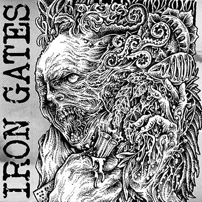 IRON GATES - Same LP (White)
