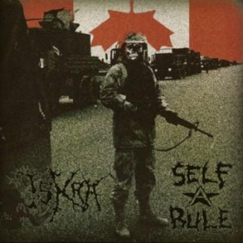 ISKRA / SELF RULE - Split EP (Red)