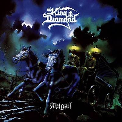 KING DIAMOND - Abigail LP (Opaque Light Blue Marbled)