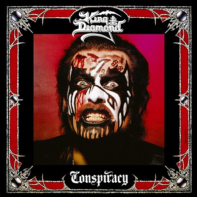 KING DIAMOND - Conspiracy LP (Clear Skin Orange Marbled)