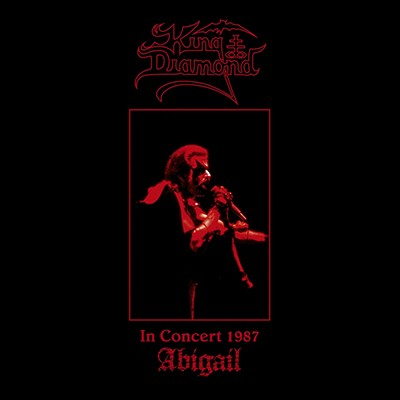 KING DIAMOND - In Concert 1987: Abigail LP (Wine Red / Black Marbled)