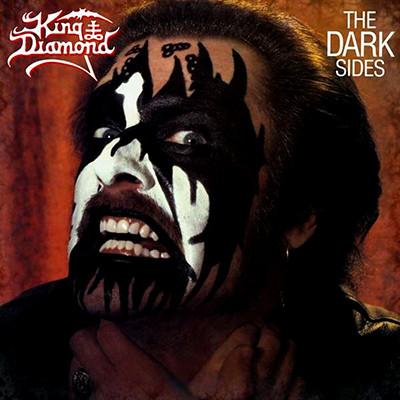 KING DIAMOND - The Dark Sides LP (Clear Dark Rose Marbled)