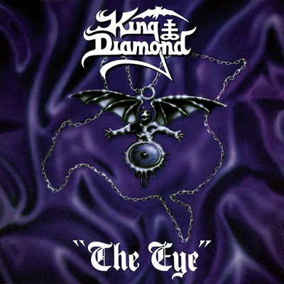 KING DIAMOND - The Eye LP (White / Black Marbled)