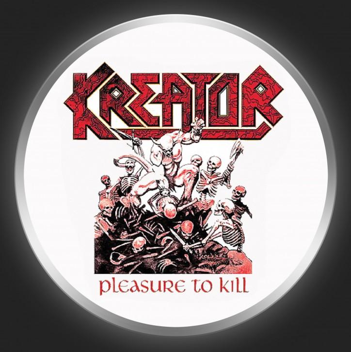 KREATOR - Pleasure To Kill Button
