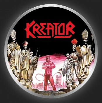 KREATOR - Terrible Certainty Button
