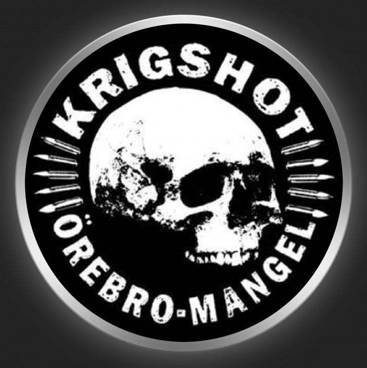 KRIGSHOT -Örebro Mangel Button