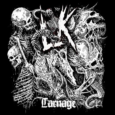 LIK - Carnage LP (White Blackdust)