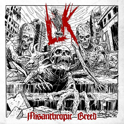 LIK - Misanthrophic Breed LP (Opaque Red)