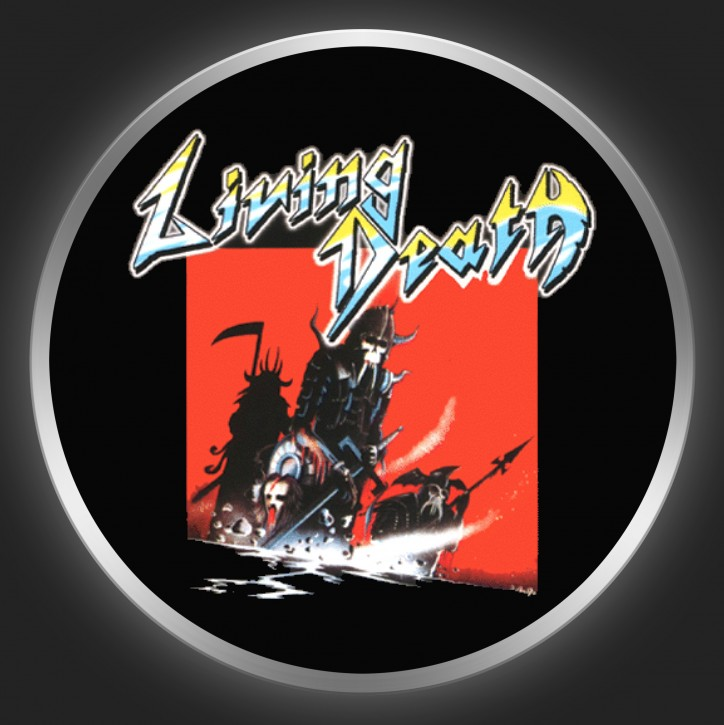 LIVING DEATH - Vengeance Of Hell Button