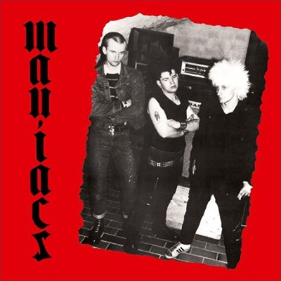 MANIACS / TIN CAN ARMY - Split LP (Black)