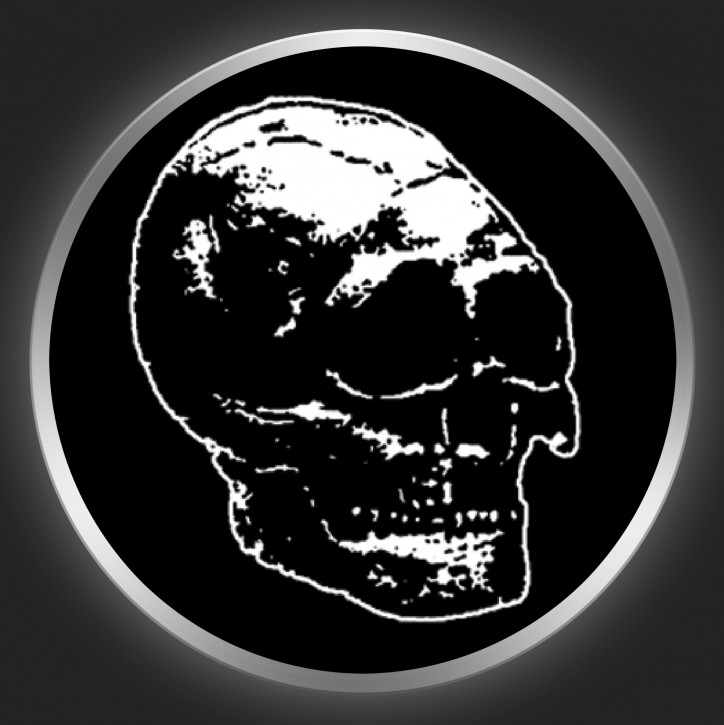 MAN IS THE BASTARD - Skull Button