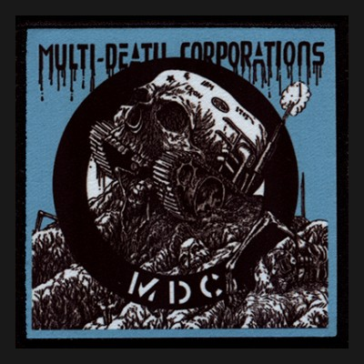 M.D.C. - Multi-Death Corporations Patch