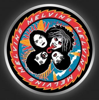 MELVINS - KISS Logo Button