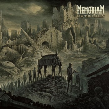 MEMORIAM - For The Fallen LP (Clear)