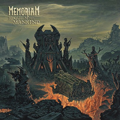 MEMORIAM - Requiem For Mankind LP (Silver)