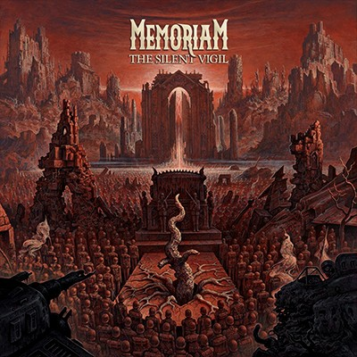 MEMORIAM - The Silent Vigil LP (Clear)