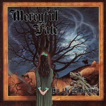 MERCYFUL FATE - In The Shadows LP (Purple Blue Marbled)