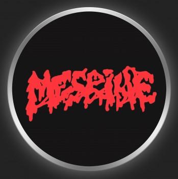 MESRINE - Red Logo On Black Button