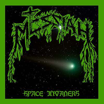 MESSIAH - Space Invaders LP (Transparent Green)