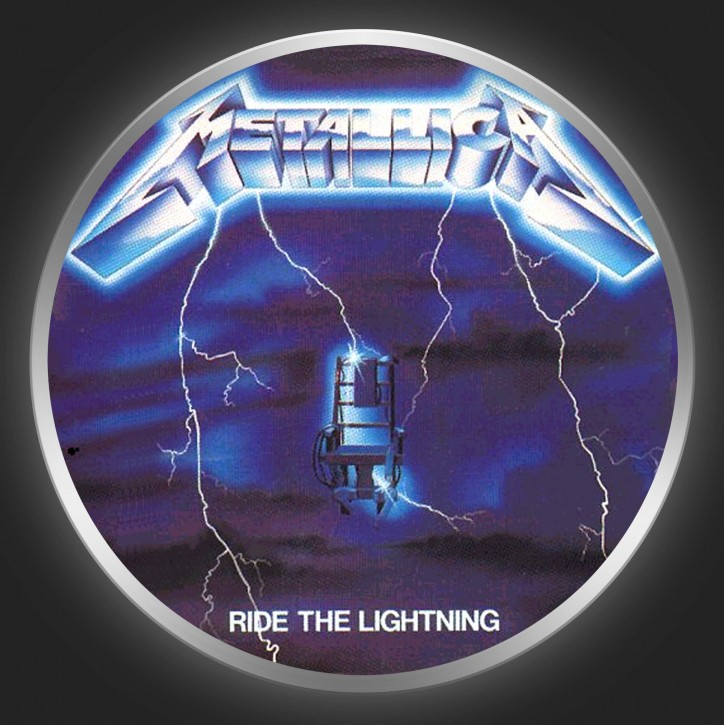 METALLICA - Ride The Lightning Button