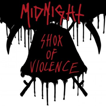 MIDNIGHT - Shox Of Violence MLP (White / Black / Oxblood Splatter)