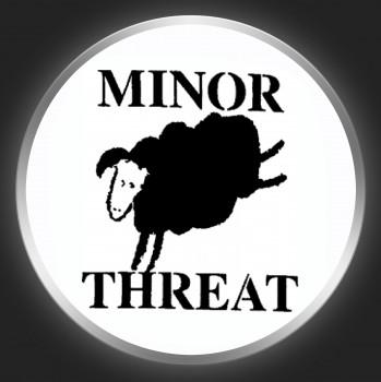 MINOR THREAT - Black Sheep Button