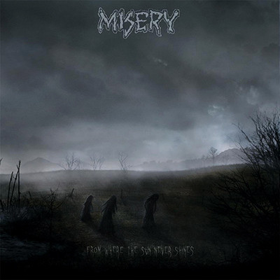 MISERY - From Where The Sun Never Shines 2 x LP (Half Ultraclear / Half Silver)