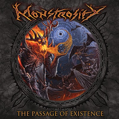 MONSTROSITY - The Passage Of Existence LP (Dusk Blue Marbled)