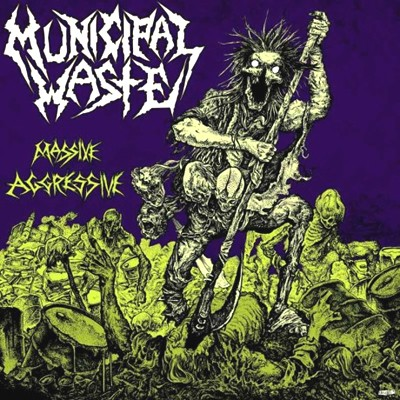 MUNICIPAL WASTE Massive Aggressive CD Box