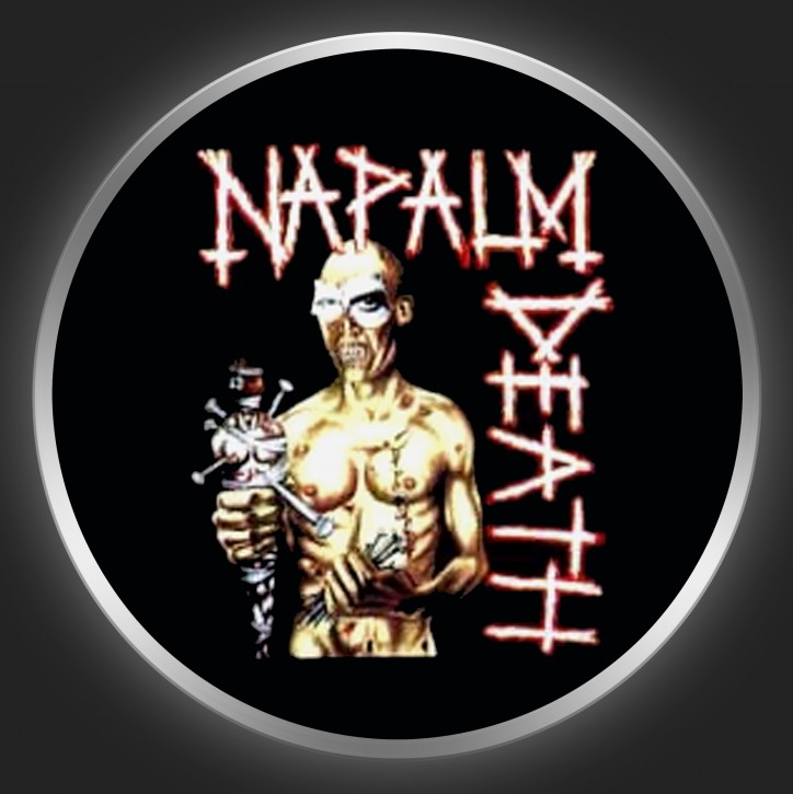 NAPALM DEATH - Utopia Banished Button