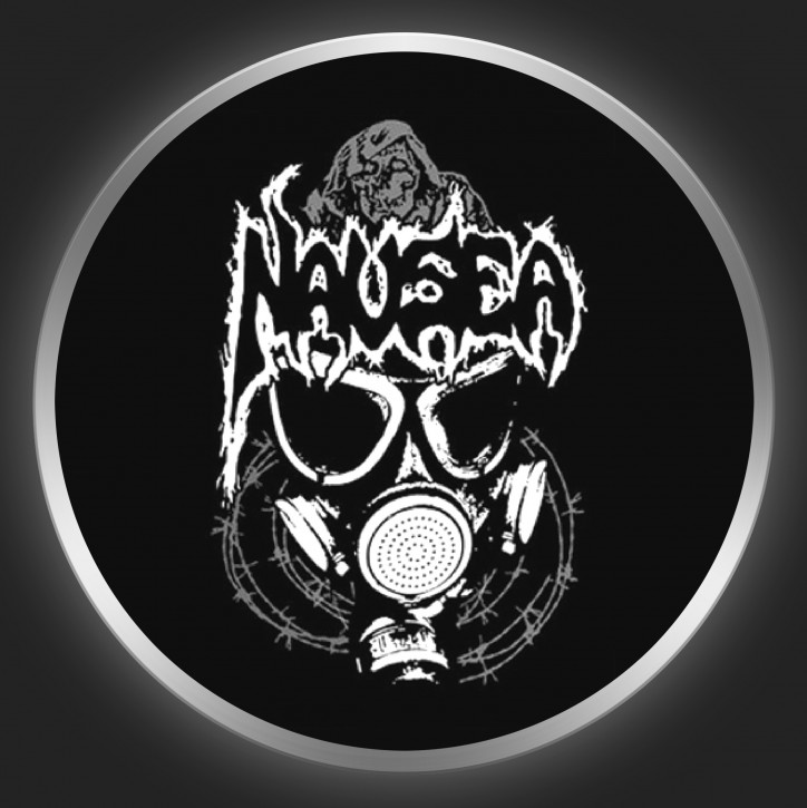 NAUSEA (LA) - Gasmask Button