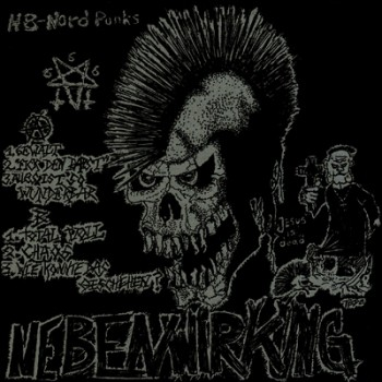 NEBENWIRKUNG - Fick Den Papst EP (Side A / Side B Effect: Bloodred / Bone, Silver Extra Cover)