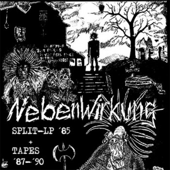 NEBENWIRKUNG - Split-LP ´85 + Tapes ´87 - ´90 LP