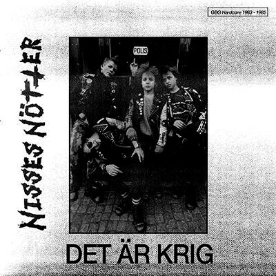 NISSES NÖTTER - Det Är Krig (Early Demos 83 To 85) LP