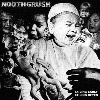 NOOTHGRUSH - Failing Early, Failing Often 2 x LP (Clear With Black Smoke Marble Effect)
