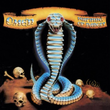 OMEN - Warning Of Danger LP (Clear Metallic Blue)