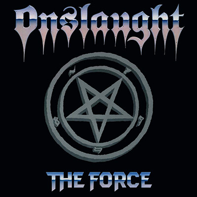 ONSLAUGHT - The Force LP (Transparent Royal Blue)