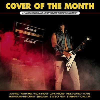 PARANOID - Cover Of The Month LP