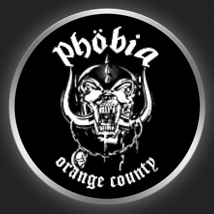 PHOBIA - Orange County Button