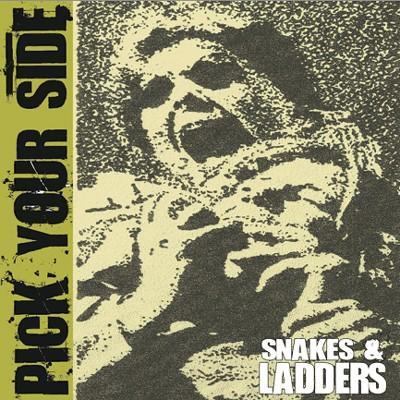 """PICK YOUR SIDE - Snakes & Ladders EP + Bonus 7"""" Flexi"""