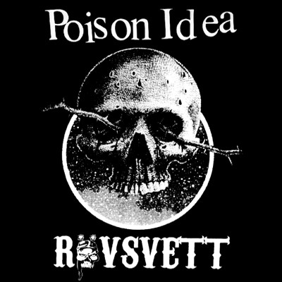 POISON IDEA / RÖVSVETT - Split EP (Dark Green Opaque)
