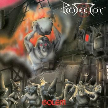 PROTECTOR - Golem LP (Transparent Ultra Clear / Red Splatter)