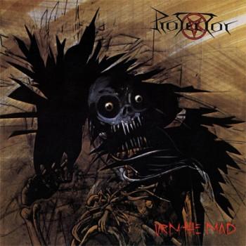 PROTECTOR - Urm The Mad LP (Transparent Beer / Black Splatter)