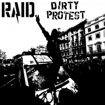 RAID / DIRTY PROTEST - Split LP (Clear)