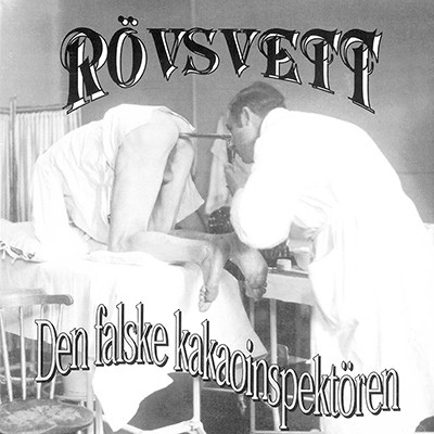 RÖVSVETT - Den Falske Kakaoinspektören LP (Transparent Yellow / Brown Splatter) PRE-ORDER