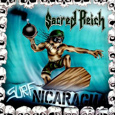SACRED REICH - Surf Nicaragua LP (Oakwook Brown Marbled)
