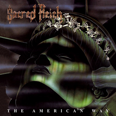 SACRED REICH - The American Way LP (Dark Purple Violet Marbled)