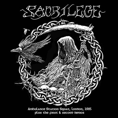 SACRILEGE - Ambulance Station Squat, 1985 Plus The First & Second Demos LP
