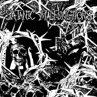 SATANIC MALFUNCTIONS / FAMINE - Split EP