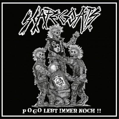 SCAPEGOATS - Pogo Lebt Immer Noch !! LP + CD (Blue)